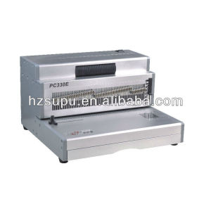 Office Aluminum Coil Binding&punch machinePC330E
