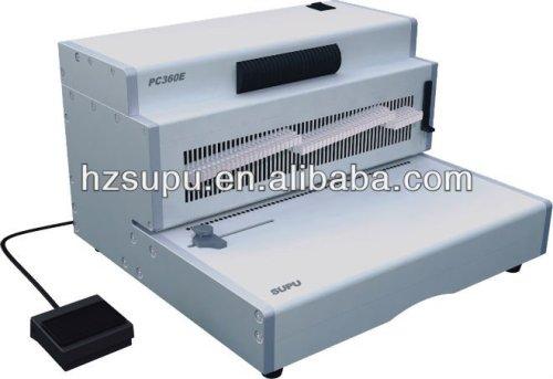 لفائف ملزمإدراج machinepc360e مكتب الألومنيوم