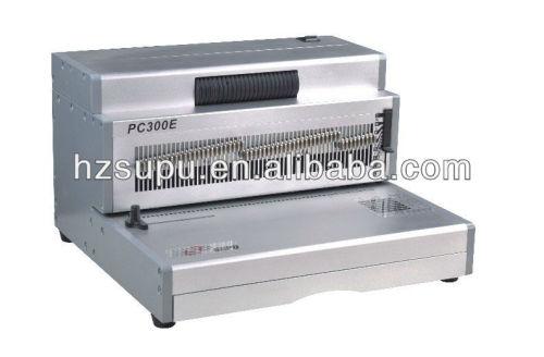 لفائف ملزمإدراج machinepc300e الكهربائي مكتب الألومنيوم