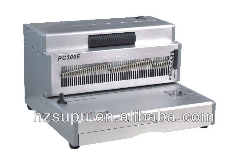 PC300E A4 paper Coil Binding machine