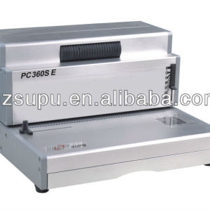 PC360SE Office Aluminum Coil Binding machine