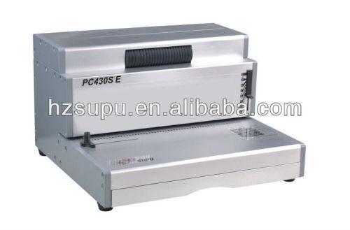 مكتب آلة تجليد لفائف الالومنيوم pc430se