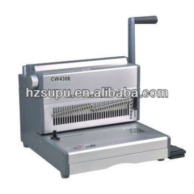 CW430E Office Electric Wire Binding Machine