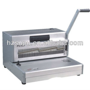 PC330 Aluminium Manual Coil binding Machine for office