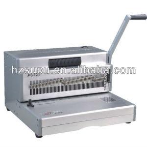 الالومنيوم دليل آلة لفائف ملزمإدراج pc330 للمكتب