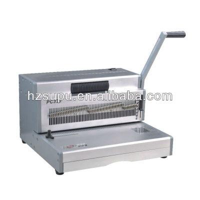 PC330 Aluminium Manual Coil binding Machine for office