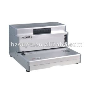 Aluminum sipral Binding machine PC300SE