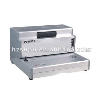 الثقيلة الكهربائية آلة لفائف ملزمإدراج pc360se