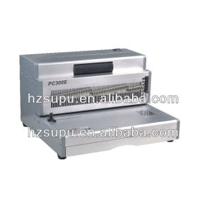 Office Aluminum Coil Binding machine