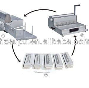 Electrical book binding equipment