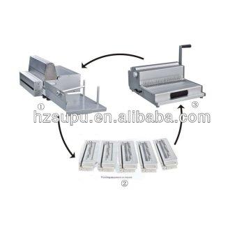 de aluminio de la máquina de perforación con intercambiables muere