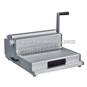 Multifunction wire binding machine for paper