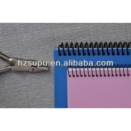 Spiral binding plier
