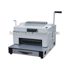 perfuração e máquina de encadernação