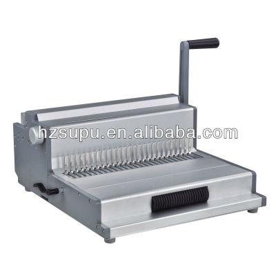 الفضة لفائف آلة تجليد، الأسلاك ومشط