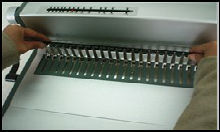 Officice heavy duty mlutifucntion binding machine of Coil ,comb and wire MF360
