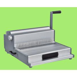 Mlutifucntion máquina de ligação da bobina, pente e fio mf360 para escritório e fábrica