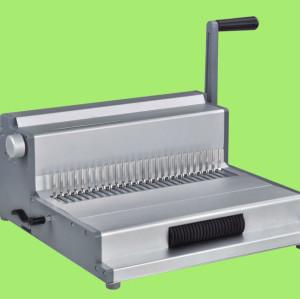 الثقيلة officice mlutifucntion لفائف آلة تجليد، مشط وسلك mf360