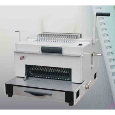 Eléctrico pesado deber y multi- función máquina de encuadernación