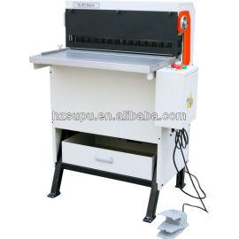 Heavy duty electric die perfuração mutável& máquina obrigatória