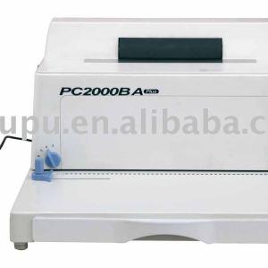 Electric spiral binding machine PC2000BA PLUS