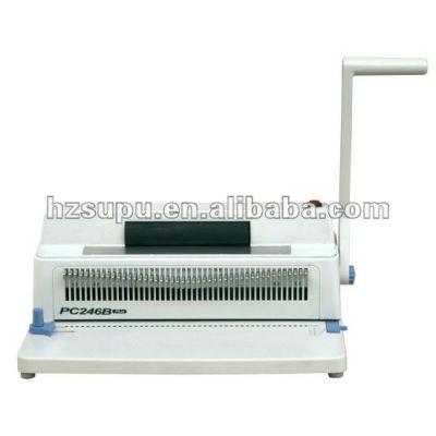 manual spiral binding machine PC246B PLUS