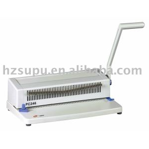 Spiral binding machine for office