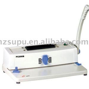 آلة تجليد حلزوني pc200b