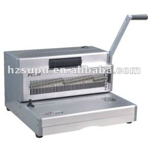 Manual spiral coil binding& punch machine PC360