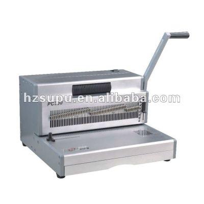 Manual spiral coil binding& punch machine PC360
