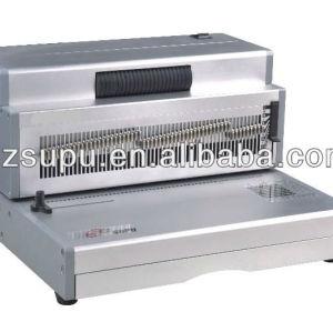 Office plastic &steel Coil Binding machinePC430E
