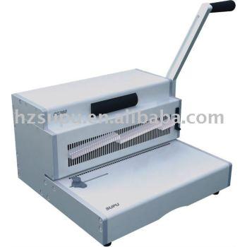 آلة ملزمة معدنية حلزونية pc360
