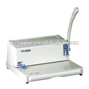 آلة تجليد حلزوني pc2000 a4