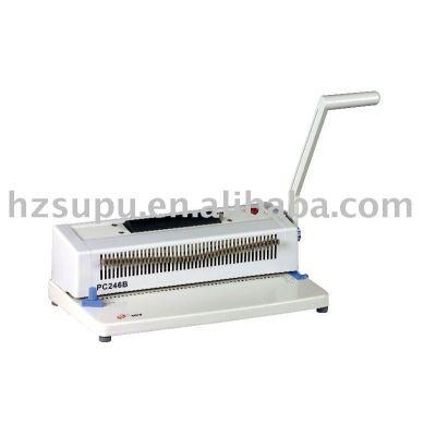 spiral binding machine PC246B