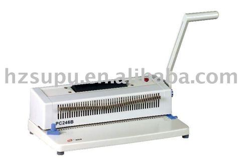آلة تجليد حلزوني pc246b