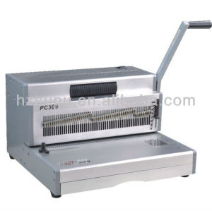 Heavy Duty Manual Coil binding Machine PC300 for office and factory