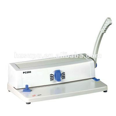 espiral de la máquina de perforación pc200