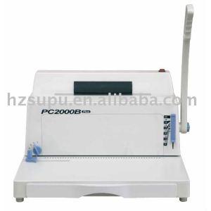 spiral binding machine PC2000B PLUS