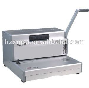 Heavy duty hand spiral binding machine PC300S