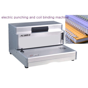 book binder machines for factory sipral coil binding machines