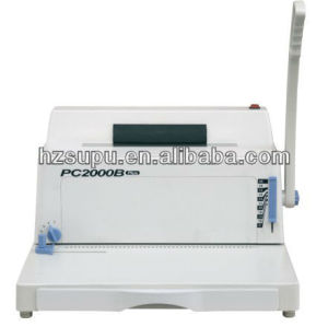 Plastic book making equipment