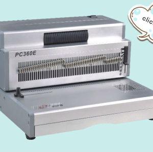 الكهربائية واجب ثقيل لولبية آلة لفائف ملزمإدراج pc360e