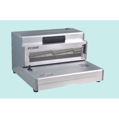 Hard Cover Heavy Duty Electrical Spiral Binding machine PC360E