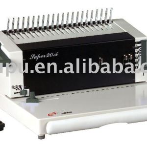 electric plastic comb binding machine SUPER20A