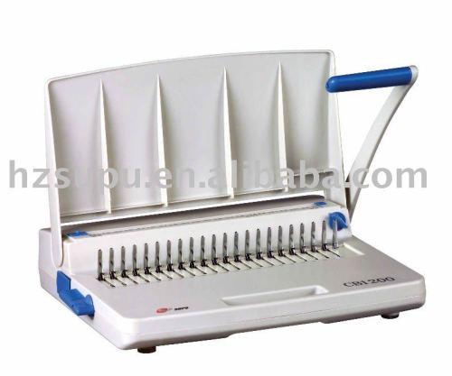 دليل آلة تجليد مشط cb1200