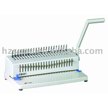 البلاستيك آلة تجليد comb cb221