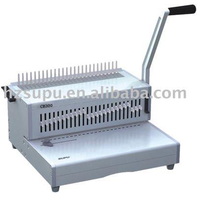 peine de plástico vinculante máquina cb300