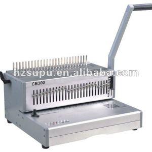 alumínio pente vinculativo máquina cb300