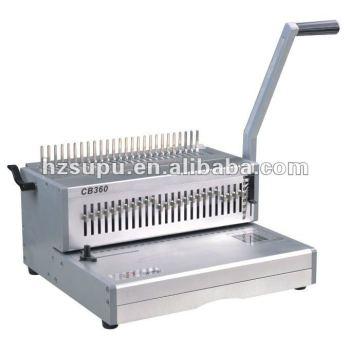 المشط آلة تجليد الكتاب الجيد النوعية cb360