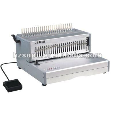 Electric comb binding machine CB360E